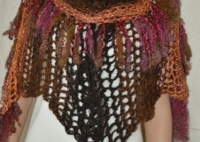 Pompous Pride 2  shawl,