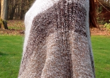 Wheat River, poncho, € 330,--