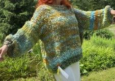 Bohemian Birth 1, Big Sweater, € 460,--