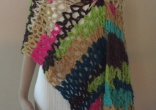 Morning Celebration 2, shawl, € 220,--