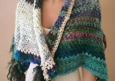 Najade's Journey 1, shawl/skirt, € 260,--