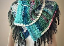 Najade's Journey 3, shawl/skirt, € 260,--